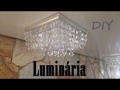 DIY- LUMINÁRIA DE LUXO GASTANDO POUCO #2- FAÇA VOCÊ MESMO - YouTube