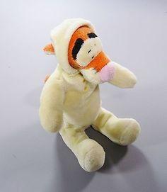 Doudou-peluche-Tigrou-combinaison-velours-jaune-Disney-Nicotoy