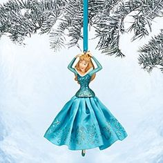 Disney Aurora Sketchbook Ornament - Sleeping Beauty - Blue - Online Exclusive | Disney StoreAurora Sketchbook Ornament - Sleeping Beauty - Blue - Online Exclusive - Frocked in her glittering blue satin gown, our Princess Aurora ornament awakens visions found once upon a dream. Dress your holiday tree with this variant color online exclusive inspired by Walt Disney's <i>Sleeping Beauty</i>.