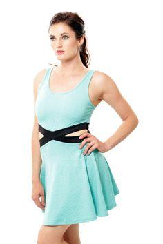 Knit Peak-A-Boo Dress - Mint