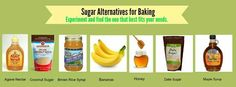 Sugar alternatives when baking