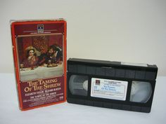 The Taming of the Shrew VHS TAPE Comedy Elizabeth Taylor Richard Burton Sale