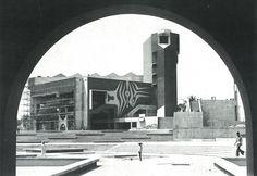 Arieh Sharon: Assembly Hall, Ife University (today Obafemi Awolowo University), Ile-Ife, Nigeria, 1970