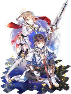 Tales of Zestiria | Alicia & Sorey. I love them more than Asuna & Kirito :p