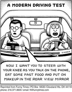 Avoid distractions and texting...including typing. #cars #