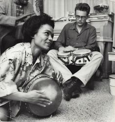 James Dean & Eartha Kitt