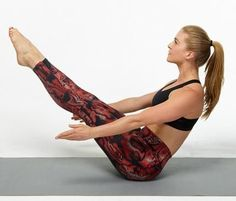 Try these yoga poses that will tighten and tone your core. Build muscle in your abs with these simple exercises you can do at home during a workout or before bed. Get the abs you want with these amazing yoga poses.