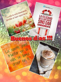 Café y buenos días