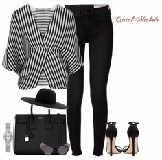 Thursday's are for Throwbacks! Taking it back 2 years ago! *no items tagged bc it's a very old post* Outfits With Hats, Girl Outfits, Fashion Addict, Stripes, Photo And Video, Black And White, Fitness, Cute, Polyvore