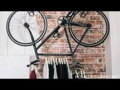 Upcycling Recycled Bicycles For Edgy Interior Street Art
