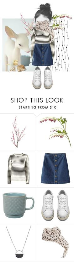 """""""A lot of tea has gone down this sunday"""" by linnettebar ❤ liked on Polyvore featuring Pier 1 Imports, OKA, Maje, Tokyo Design Studio, Acne Studios, White House Black Market and MANGO"""