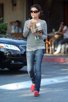 Mila Kunis Street Style