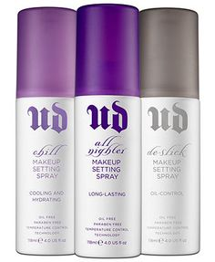 Urban Decay Setting Sprays Collection-Cooling and Hydrating is amazing
