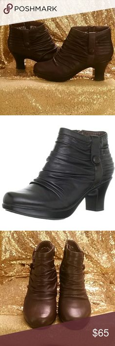 Dansko Ankle Boots Buffy Ankle Boot- Dark Brown....Excellent condition....never worn! Dansko Shoes Ankle Boots & Booties