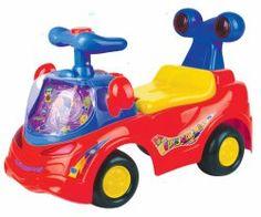 Pojazd odpychacz czerwony
