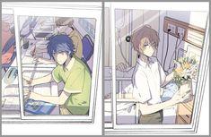 """憂田 on Twitter: """"12歳と16歳、夏(帝幻)… """" Shounen Ai, Anime Boy, Iruma, Drawings, Anime Figures, Animation, Art, Fan Art, Manga"""