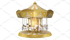 Carousel by MS design Carousel, Photo Art, Ms, The Creator, Creative, Projects, Model, Design, Log Projects