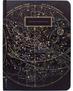 Astronomy Vintage Hardcover Journal - Cognitive Surplus - 1