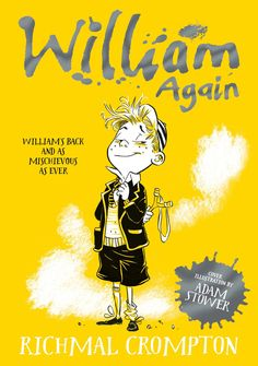 William Again, cover illustration by Adam Stower