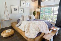 HappyModern.RU | Спальные комнаты: как организовать интерьер в условиях ограниченного пространства и 85 лучших реализаций | http://happymodern.ru