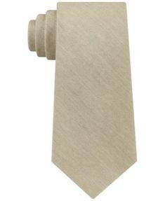 Calvin Klein Men's Brushed Solid Tie