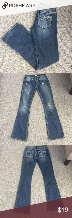 Silver Jeans Silver Jeans, size 25, 33 inseam Silver Jeans Jeans Boot Cut