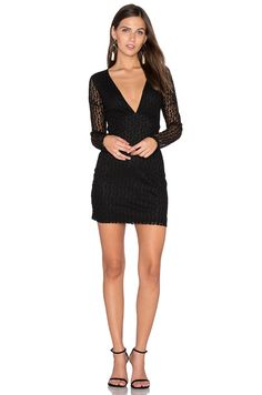 Motel Meli Dress in Black Flower Vine | REVOLVE