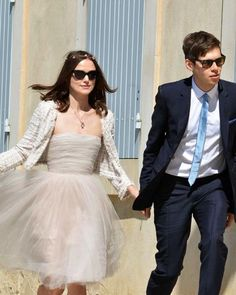 100 Memorable Celebrity Wedding Moments - Keira Knightley & James Righton from #InStyle