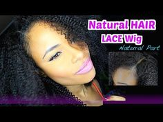 How to: Full LACE Wig w/ Natural Looking Part!