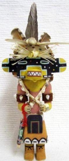 Hopi Old Style 12 Lizard Kachina Katsina Doll by Bryan Nasetoynewa | eBay