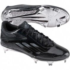 d8e3583bdc3 Image for adidas Mens Adizero Afterburner 2.0 Metal Cleats from Baseball  Equipment  amp  Gear