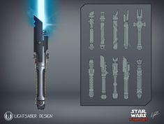 Lightsaber Forms, Sith Lightsaber, Lightsaber Design, Custom Lightsaber, Star Citizen, Star Wars Concept Art, Star Wars Fan Art, Star Wars Jedi, Star Trek