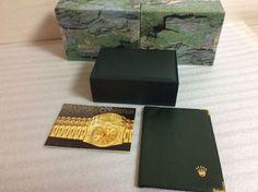 ROLEX BOX MONTRES ROLEX SA GENEVE SUISSE 68.00.08 + WALLET + BOOKLET + FREE SHIP #Rolex