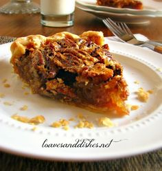 This recipe for old fashion pecan pie is as delicious as you remember. It is easy to prepare too!