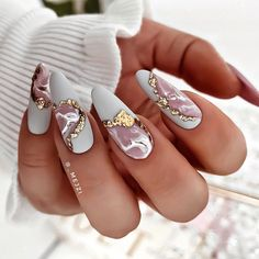 Elegant Nails, Stylish Nails, Trendy Nails, Fancy Nails, Bling Nails, Swag Nails, Perfect Nails, Gorgeous Nails, Nagellack Design