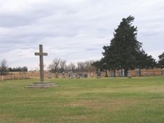 Saint Martins First Cemetery  Also known as: Old Catholic Cemetery  Woodson County  Kansas  USA