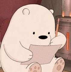We bare bears ice bear aesthetic Wallpapers Tumblr, Cute Cartoon Wallpapers, Animes Wallpapers, Ice Bear We Bare Bears, We Bear, Bear Cartoon, Cartoon Icons, Bear Wallpaper, Kawaii Wallpaper