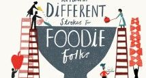 Different Strokes for Foodie Folks illustrated by Debbie Powell