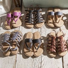 The next best thing to being barefoot? The most comfortable sandals ever. #summer #sandals #timberland