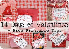 Mommy by day Crafter by night: 14 Days of Valentines with Printable 3x4 Project Life Cards