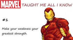Marvel Taught Me All I Know