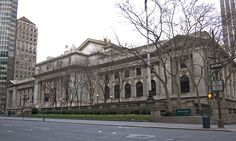 New York Public Library -  42nd St & Fifth Ave. - NYC