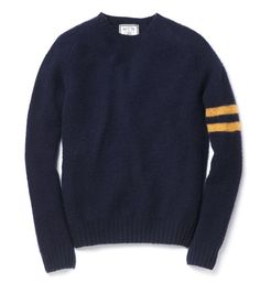 Slim J.Press Shetland Shaggy Dog Sweater | A Continuous Lean #menswear #sweater #wool