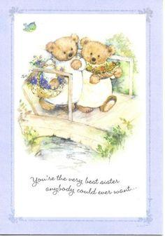 Mary-Hamilton-Marys-Bears-Best-Sister-Greeting-Card-By-Hallmark-New