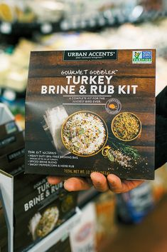 Thanksgiving made easy! Pick up one of these Gourmet Gobbler Turkey Brine & Rub Kits at your local Tacoma Boys or H&L Produce. We have all the fixings for an amazing Thanksgiving Feast! Turkey Brine, Thanksgiving Feast, Home Chef, Make It Simple, Spices, Herbs, Fresh, Easy, Gourmet