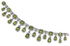 Peridot Necklace, Antique Necklace, Twinkle Twinkle, Eyes, Diamond, Blog, Jewelry, Jewlery, Jewerly