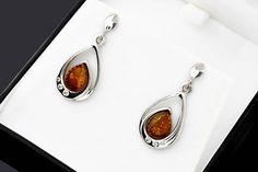 Silver Earrings For Wife Statement Earrings For Mom Cubic Amber Earrings, Amber Jewelry, Stone Earrings, Stone Bracelet, Stone Necklace, Statement Earrings, Silver Earrings, Drop Earrings, Silver Pendants