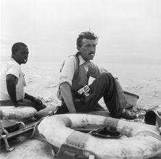 Thurston Hopkins in Uganda, nel 1951. (Hulton Archive/Picture Post/Getty Images)