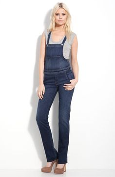 5657f70f0f8 MOTHER  Sweetheart  Stretch Denim Overalls (Stardust Wash) available at  Nordstrom --