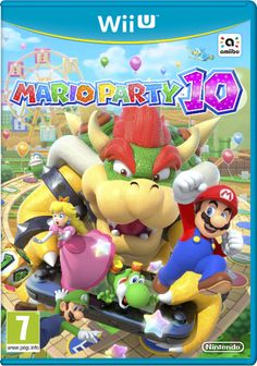 LE 20 MARS, AFFÛTEZ VOS TÉLÉCOMMANDES Wii, MARIO PARTY 10 DÉBARQUE SUR Wii U ! http://gamezik.fr/mario-party-10-debarque-sur-wii-u/